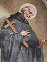 Blessed Anthony of Amandola by Emilio Pallotta, Monastery of Saint Nicholas of Tolentino, Italy.