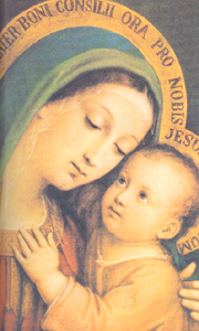 Our Mother of Good Counsel by P. Sarullo.