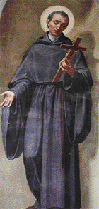 Blessed Peter James of Pesaro, Church of Saint Augustine, Rome, Italy.